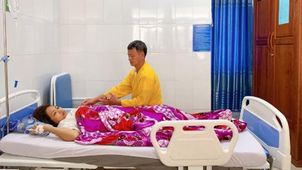 u xơ tử cung, nặng 2,3kg, bệnh viện sản - nhi Bắc Giang, khối u nặng 2,3 kg, vết mổ cũ, bệnh phụ khoa
