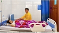 Bệnh viện Sản - Nhi Bắc Giang cắt bỏ khối u nặng 2,3 kg ở tử cung bệnh nhân