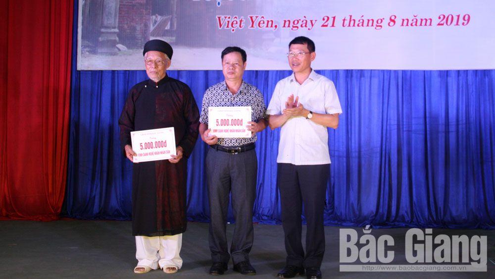 Việt Yên, làng quan họ cổ, ca trù