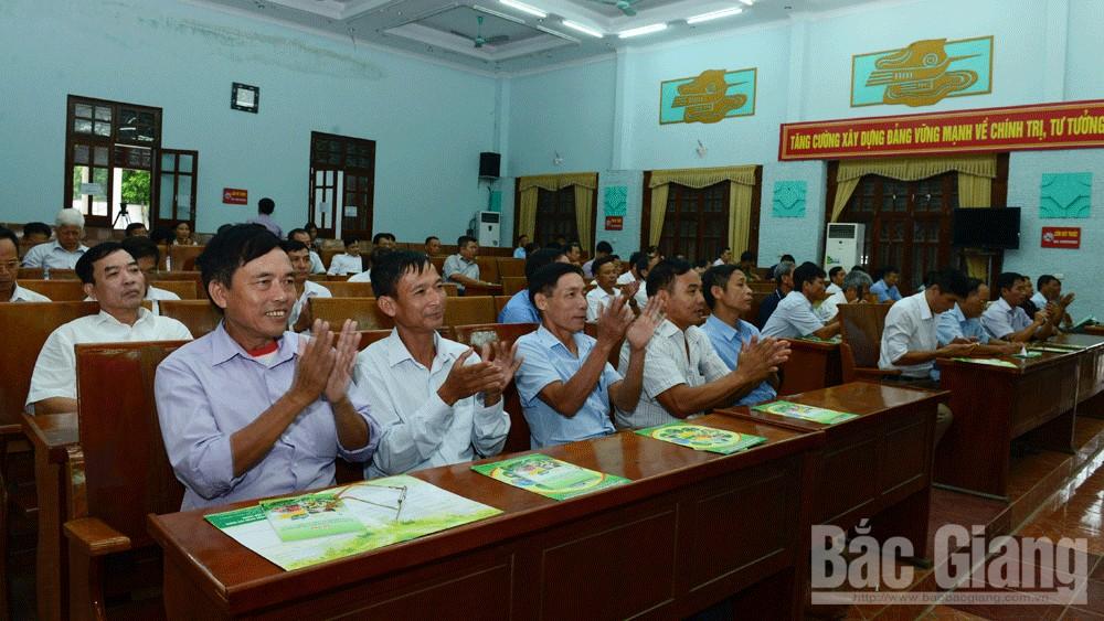 Hiệp Hòa, xây dựng,nông thôn mới, Thực hiện,  nguyên tắc, Bắc Giang
