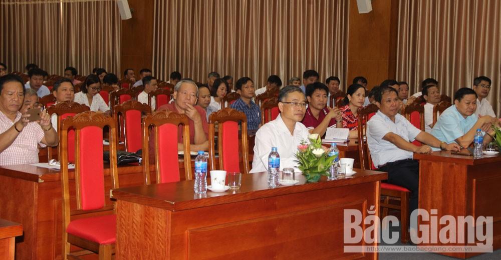 Đảng ủy Khối Doanh nghiệp tỉnh, Bắc Giang, 50 năm thực hiện Di chúc, Mạch Quang Thắng
