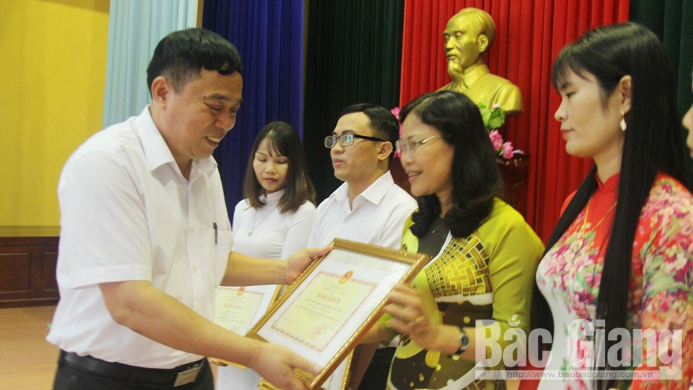Lục Nam, giáo dục, tổng kết năm học, triển khai nhiệm vụ, Đào Văn Sinh