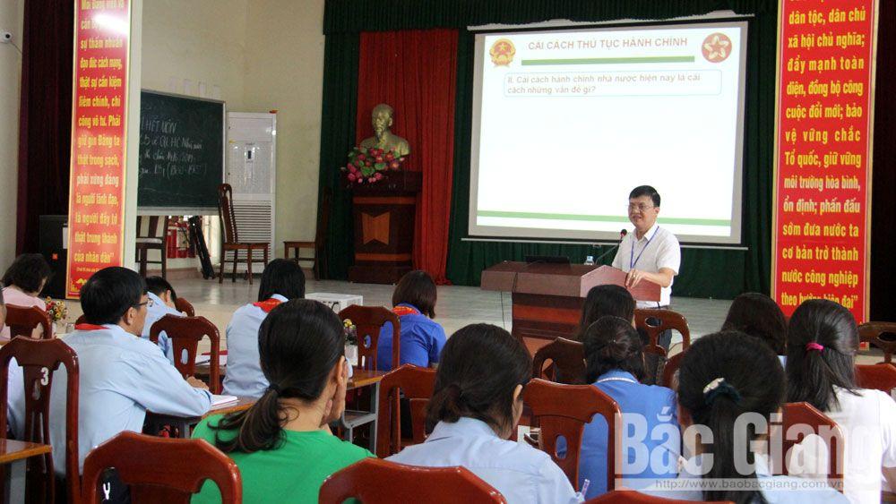 Việt Yên, cải cách hành chính, tuyên truyền