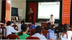 Huyện Việt Yên hướng dẫn thực hành các ứng dụng tiện ích trong cải cách hành chính