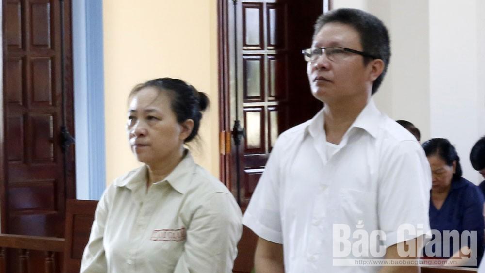 Nguyễn Tiến Duẩn, TAND tỉnh Bắc Giang, gây hậu quả nghiêm trọng, cán bộ huyện Yên Dũng