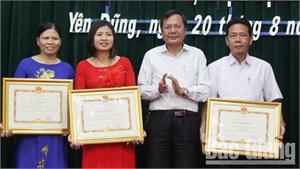 Yên Dũng phấn đấu tỷ lệ phòng học kiên cố đạt 91,92%