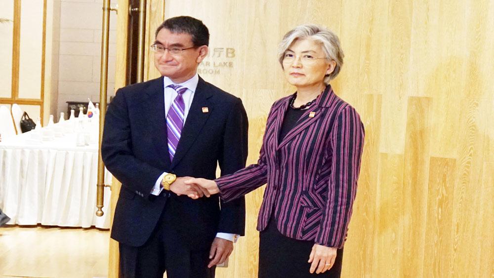Nhật Bản, Hàn Quốc, nhất trí, đối thoại, giải quyết bất đồng lịch sử