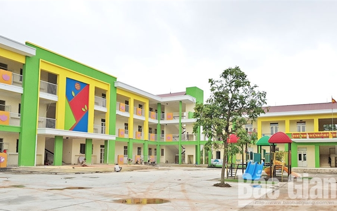 TP Bắc Giang: Trường lớp khang trang  đón năm học mới