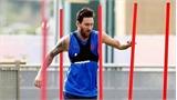 Barca đón tin vui từ Messi