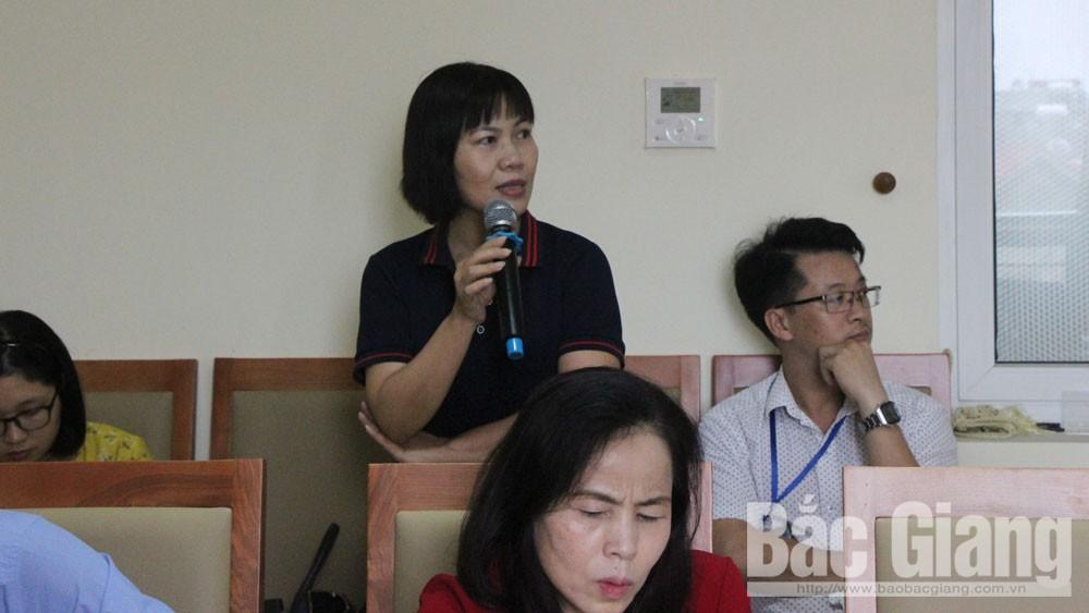 Nâng cao, kiến thức, về hoạt động, sáng kiến, tập huấn ,sáng kiến, Sở Khoa học và Công nghệ, Bắc Giang
