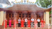 Khánh thành Đền thờ Bác Hồ tại xã Nhã Nam