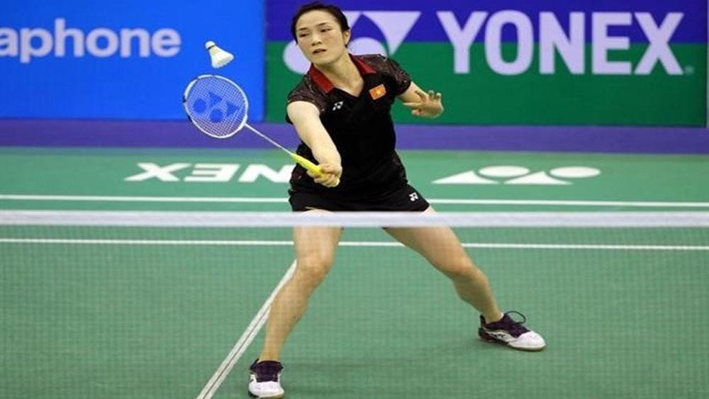 Vu Thi Trang, badminton player, Vietnamese badminton history, Bac Giang province, Bac Giang born player, world No 74, women's singles, Badminton World Championship 2019