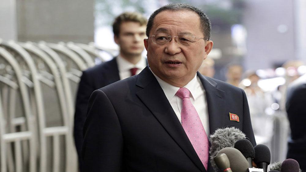 Triều Tiên, thông báo, tham dự, khóa họp ĐHĐ LHQ