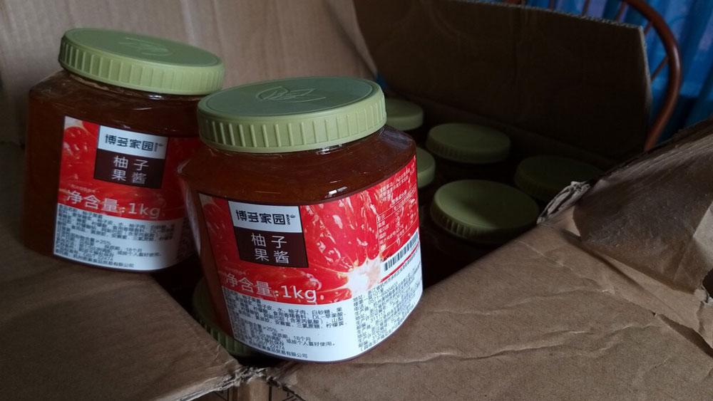 hàng lậu, hạt dẻ, nước hoa quả, trung thu, nhập lậu, Bắc Giang