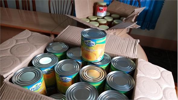 Bắc Giang: Thu giữ lượng lớn nước hoa quả và hạt dẻ nhập lậu để bán dịp Trung thu