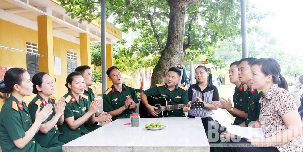 Nguyễn Công Chức, về miền yêu thương, khúc tình quê, Bắc Giang