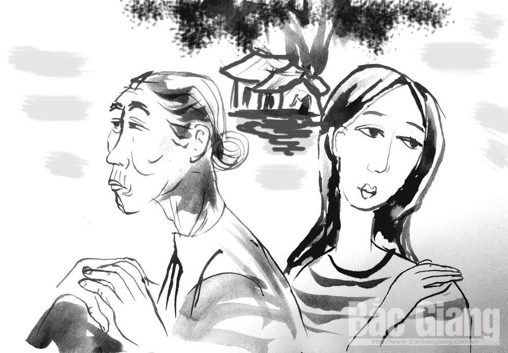 Hoàng hôn phía cuối làng, cụ Giảo, Tâm, thất thập cổ lai hy