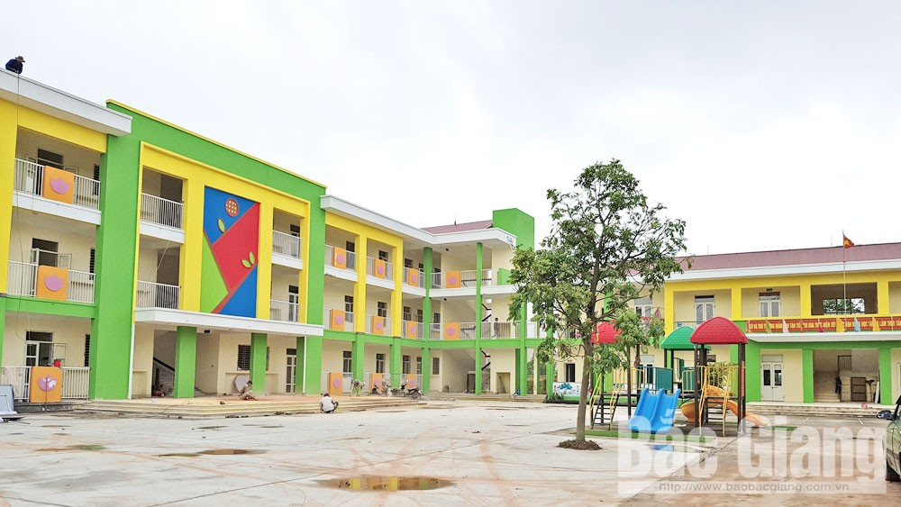 Bac Giang city: Spacious and beautiful schools welcome new academic year