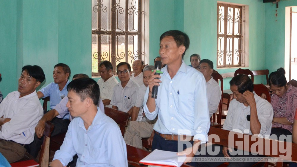 Bắc Giang, Tỉnh ủy, tiếp xúc đối thoại, nhân dân Lạng Giang