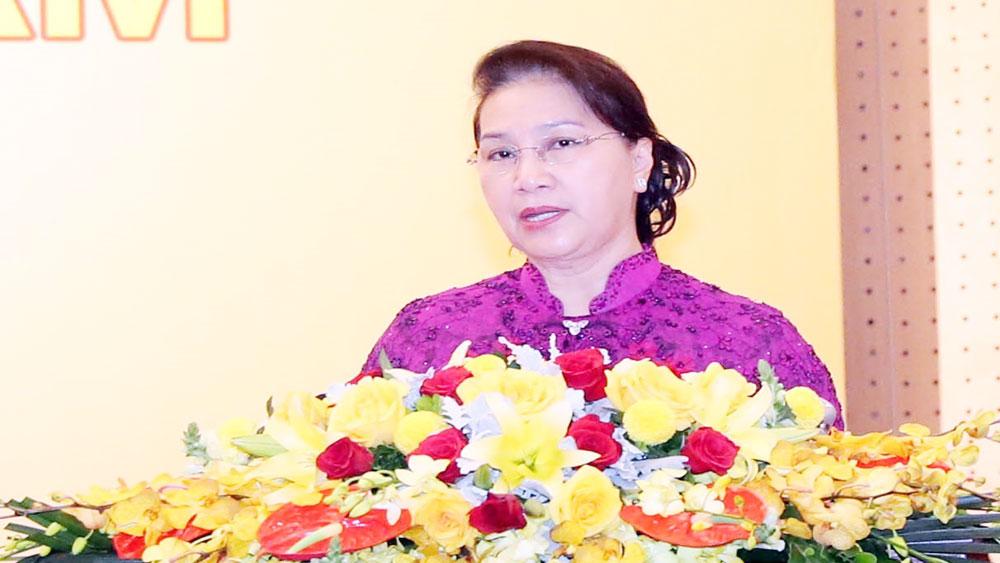 Chủ tịch Quốc hội Nguyễn Thị Kim Ngân dự Lễ công bố Sách vàng Sáng tạo Việt Nam năm 2019