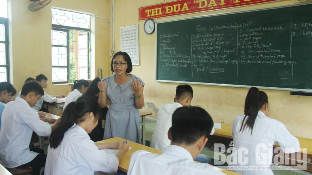 giáo dục, năm học mới, 2019-2020, bắc giang, THPT Lục Ngạn số 4; Chủ tịch UBND tỉnh Bắc Giang