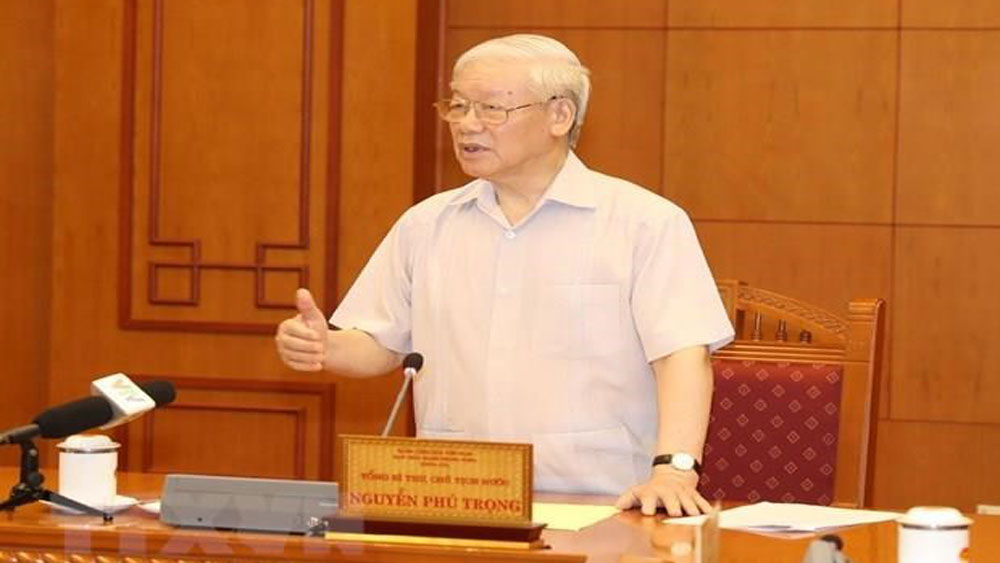 Party leader, personnel sub-committee meeting, next congress, Nguyen Phu Trong, Party leadership, significant role