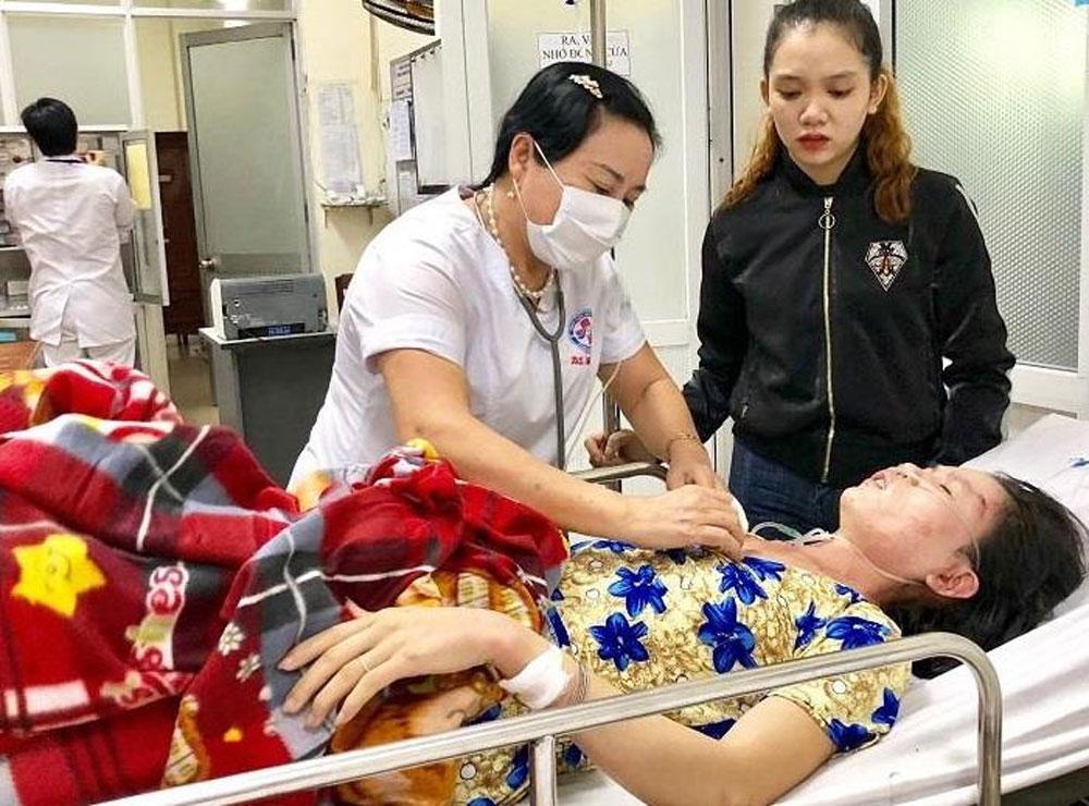 Quảng Ngãi:, cứu sống, ngừng thở vì bị sét đánh, Lý Thị Bích Kiều