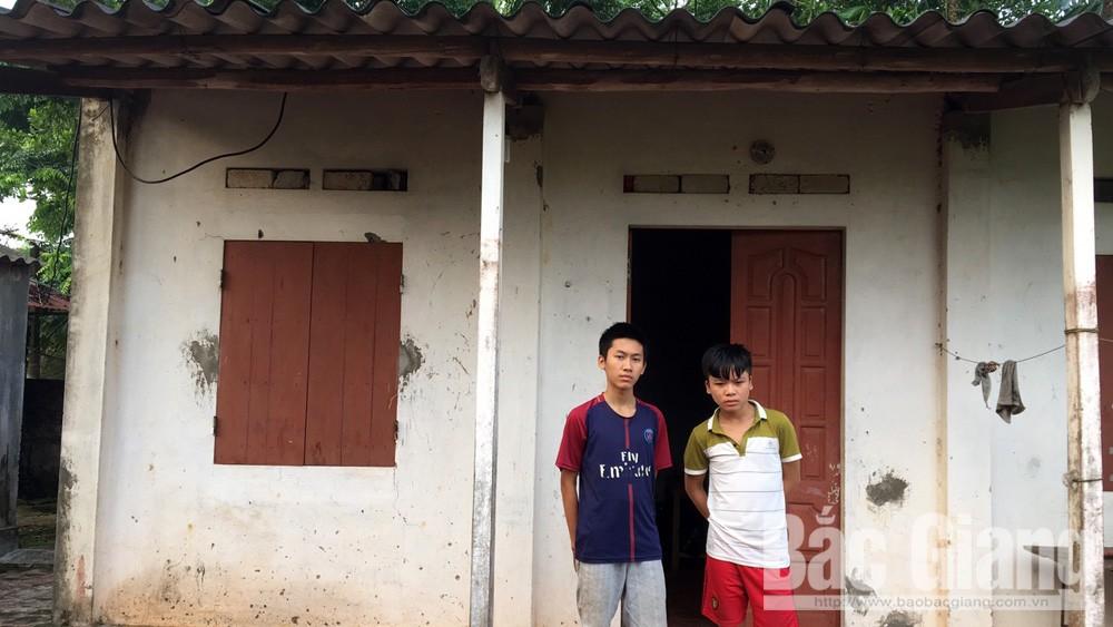 Hiệp Hòa, THPT Hiệp Hòa số 4, Dương Đình Triệu, học sinh nghèo,