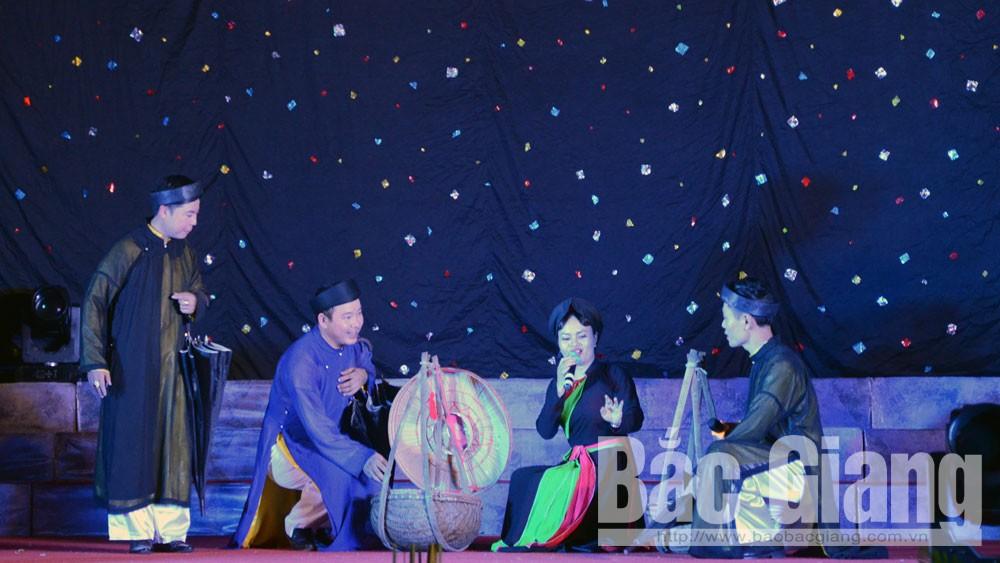 Liên hoan, quan họ ca trù, bế mạc, trao giải, tỉnh Bắc Giang