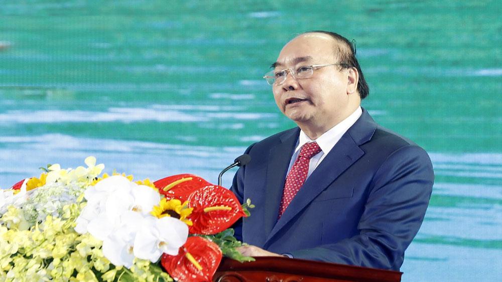 Thủ tướng Nguyễn Xuân Phúc, Lễ kỷ niệm 70 năm Ngày giải phóng tỉnh Bắc Kạn,