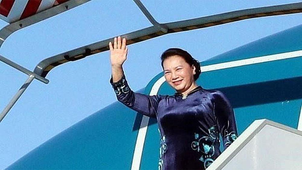Chủ tịch Quốc hội Nguyễn Thị Kim Ngân, lên đường, tham dự, Đại hội đồng AIPA 40, thăm chính thức, Vương quốc Thái Lan