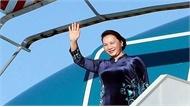Chủ tịch Quốc hội Nguyễn Thị Kim Ngân lên đường tham dự Đại hội đồng AIPA 40 tại Thái Lan