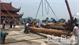 Lễ rước và vận chuyển gỗ xây dựng thượng điện chùa Hạ - Tây Yên Tử