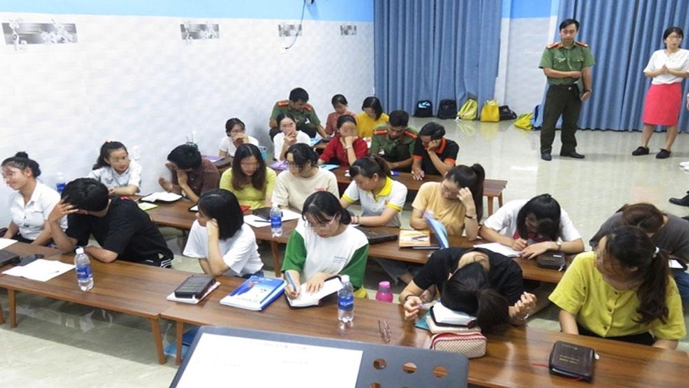 Bắt quả tang, trung tâm dạy ngoại ngữ, truyền đạo trái phép ở Đà Nẵng, Trung tâm ngoại ngữ Best one Academy