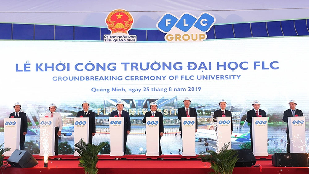 Khởi công, xây dựng, Trường Đại học FLC tại Quảng Ninh, Tập đoàn FLC