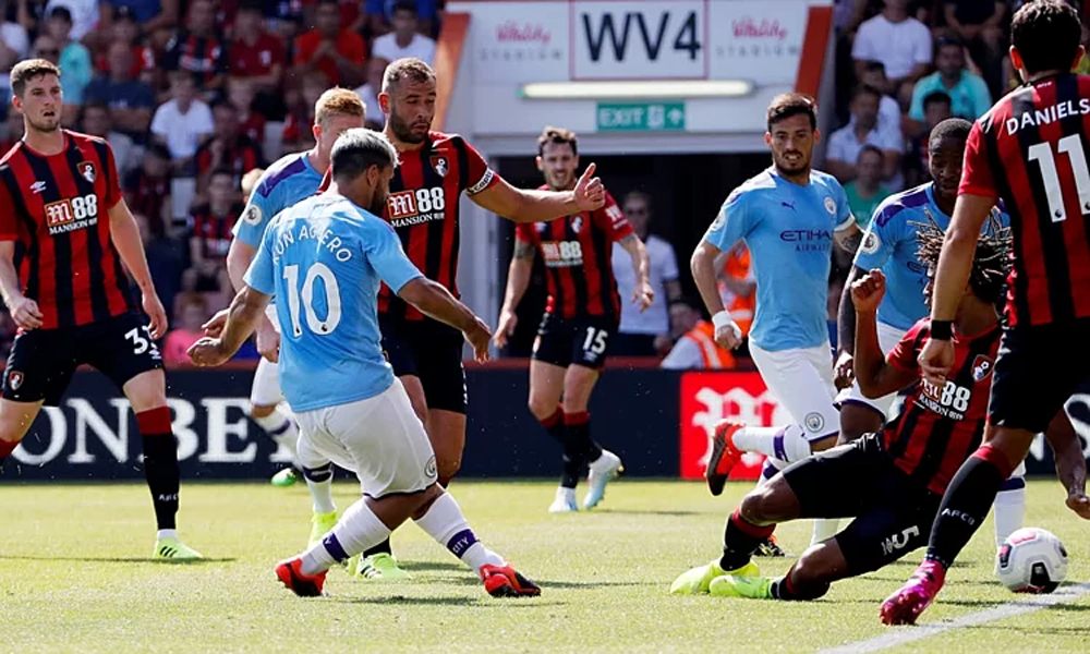 Man City, Aguero, Bournemouth, Ngoại hạng Anh