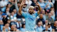 Man City thắng nhờ cú đúp của Aguero