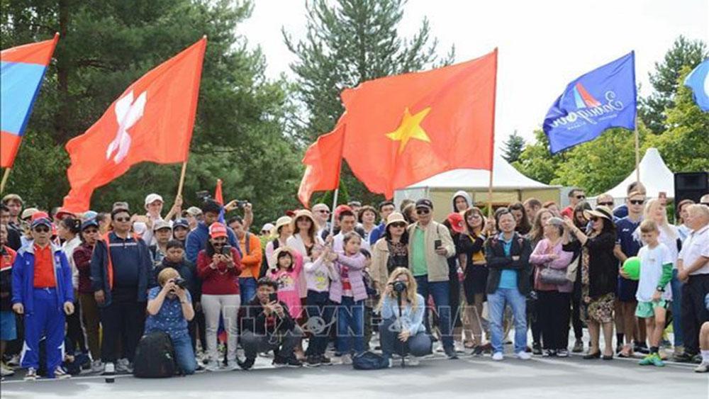 Vietnam, Summer Diplomatic Games, Russia, Vietnamese Embassy,  annual event,  diplomatic agencies, human health