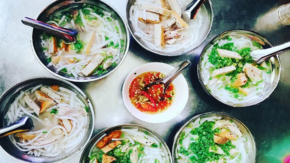 Fish cake noodles a Phan Rang speciality