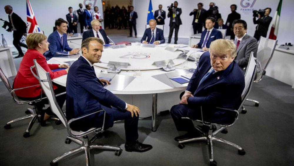 vấn đề đốt nóng G7, Pháp, Hội nghị G7
