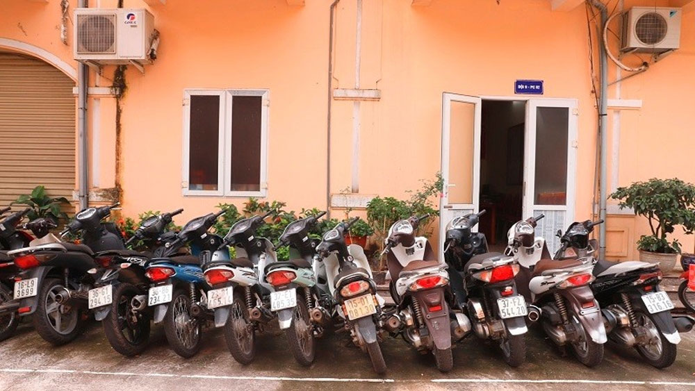 Triệt phá, ổ nhóm chuyên trộm cắp xe máy ở Hải Phòng,  Bùi Như Toàn; Lê Văn Tưởng; Vũ Văn Đại; Nguyễn Minh Thành.
