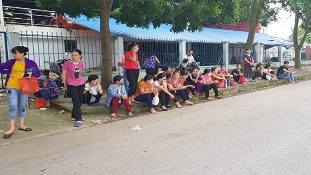 Hải Dương, gần 3.000 công nhân, ngừng việc, bữa ăn trưa kém chất lượng, Công ty TNHH NamYang Delta