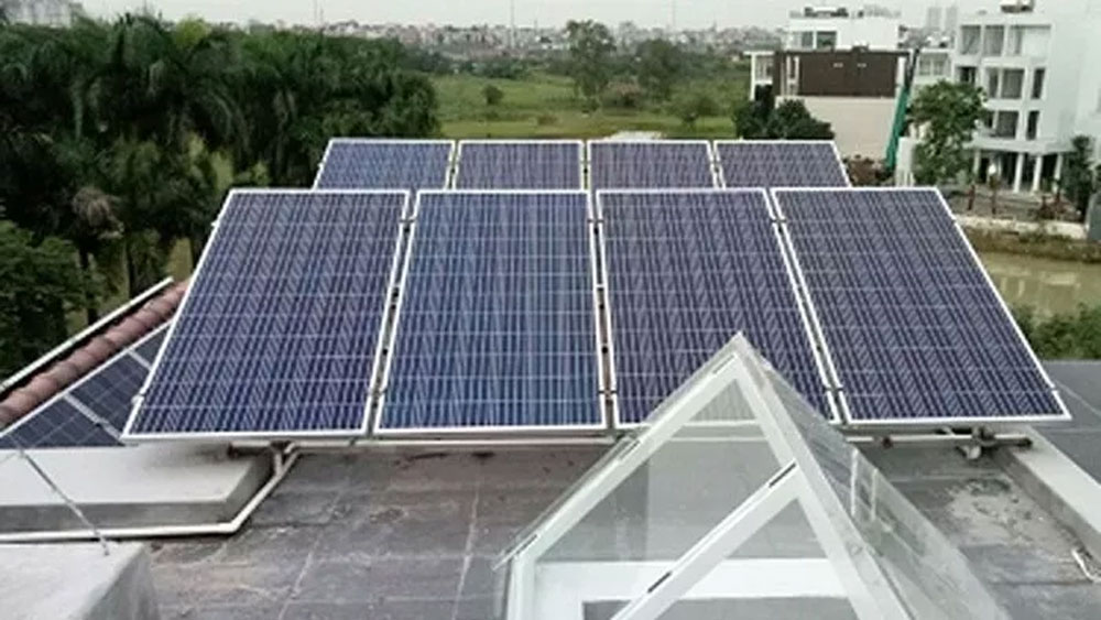 Rooftop solar power,  Electricity of Vietnam,  rooftop solar power systems, traditional power sources, national power security