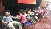 Lạng Giang: Tiếp nhận hơn 1 nghìn đơn vị máu an toàn