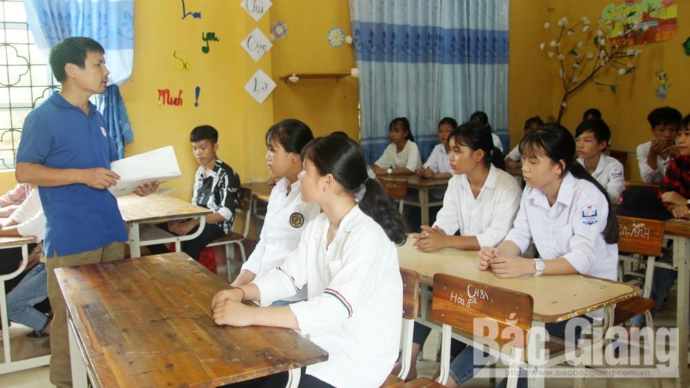 Bắc Giang không để thiếu giáo viên trong năm học 2019-2020
