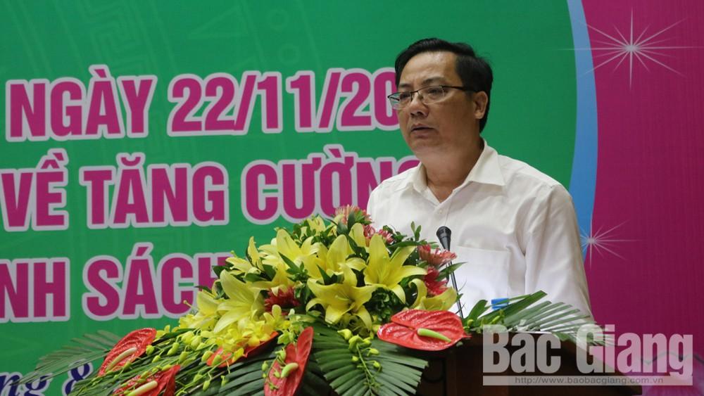 Tiếp tục, tập trung, vốn tín dụng chính sách xã hội, ngân hàng, Bắc Giang, vay vốn