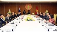 Chủ tịch Quốc hội Nguyễn Thị Kim Ngân hội đàm với Chủ tịch Hạ viện Thái Lan Chuan Leekpai