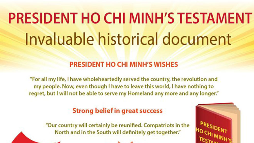 President Ho Chi Minh's testament- invaluable historical document