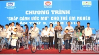 """Gần 390 triệu đồng ủng hộ Chương trình """"Chắp cánh ước mơ"""" cho trẻ em nghèo tỉnh Bắc Giang lần thứ 4 năm 2019"""