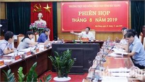 Phiên họp thường kỳ tháng 8 HĐND tỉnh: Khẩn trương chốt điểm dừng kỹ thuật của từng dự án đo đạc bản đồ